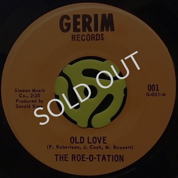 THE ROE-O-TATION - OLD LOVE / SPECIAL CATEGORY