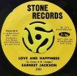 EARNEST JACKSON - LOVE AND HAPPINESS / HOGWASH