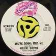 """ARLENE BROWN AND LEE """"SHOT"""" WILLIAMS / ARLENE BROWN - IMPEACH ME BABY / YOU'RE GONNA MISS ME"""