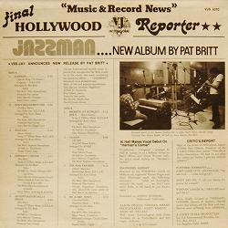 Pat Britt Jazzman