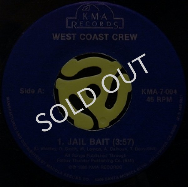 画像1: WEST COAST CREW / JAIL BAIT (1)