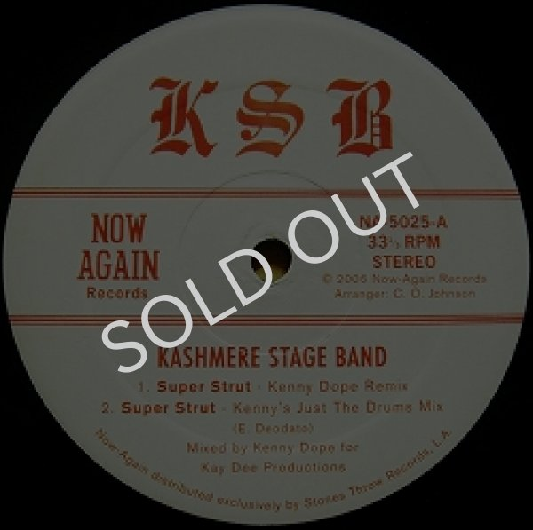 画像1: KASHMERE STAGE BAND / SUPER STRUT (KENNY DOPE REMIX) (1)