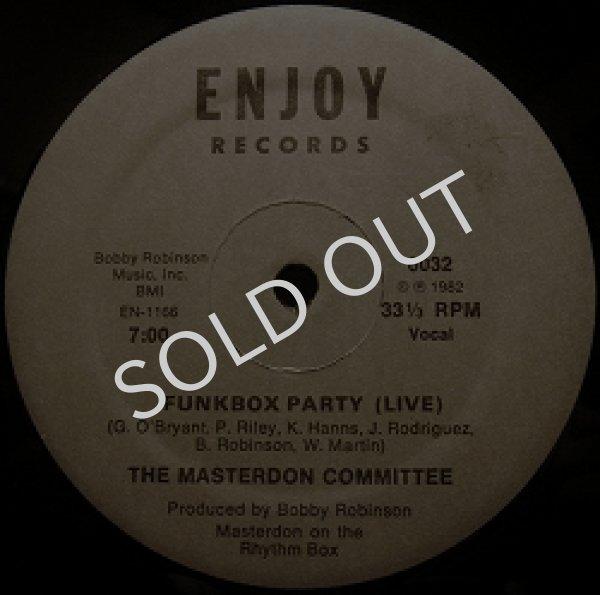 画像1: MASTERDON COMMITTEE / FUNK BOX PARTY (LIVE) (1)