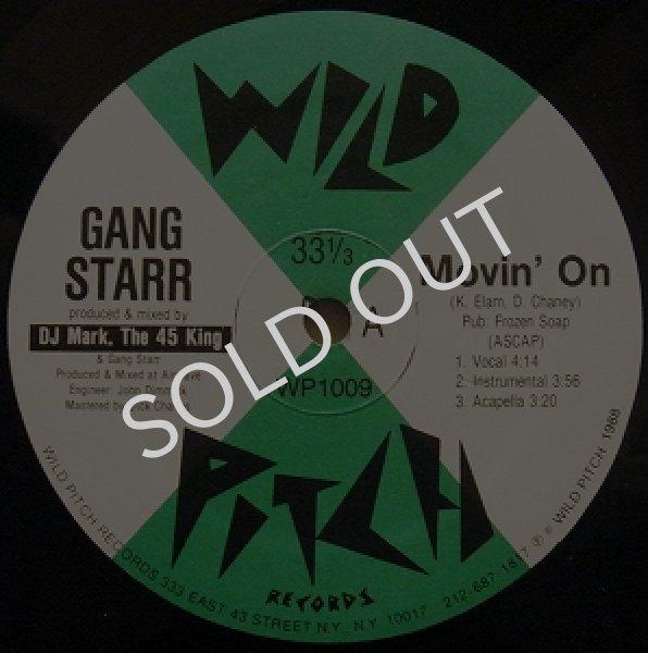 画像1: GANG STARR / MOVIN' ON (1)