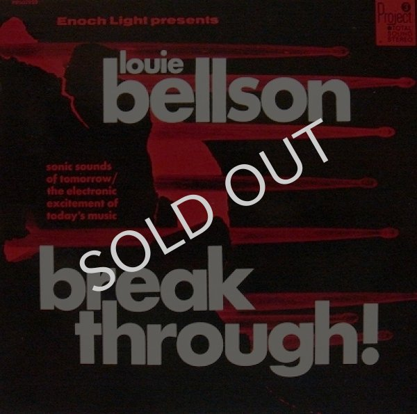 LOUIE BELLSON AND HIS ORCHESTRA / BREAKTHROUGH!