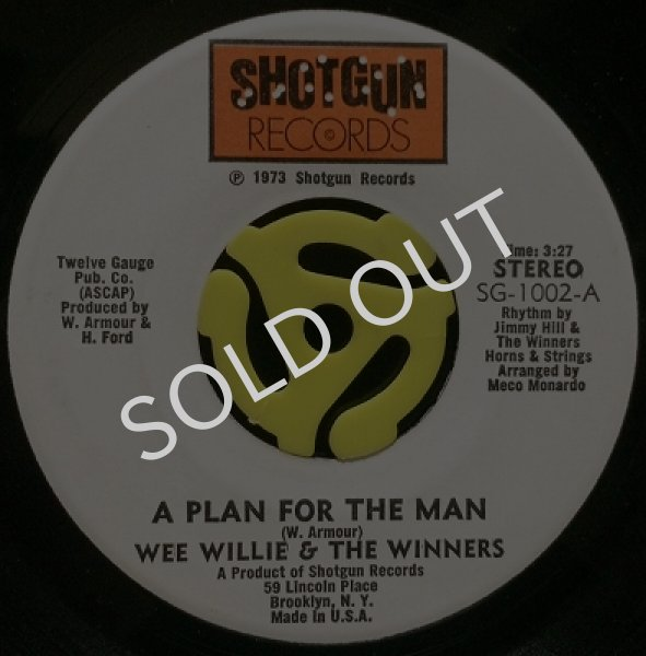 WEE WILLIE & THE WINNERS / A PLAN FOR THE MAN