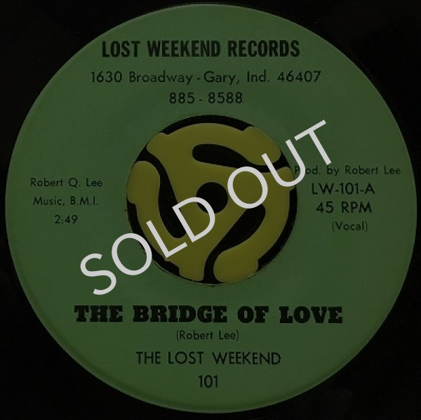 THE LOST WEEKEND - THE BRIDGE OF LOVE / (INST.)