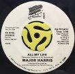 MAJOR HARRIS - ALL MY LIFE / (INST.)