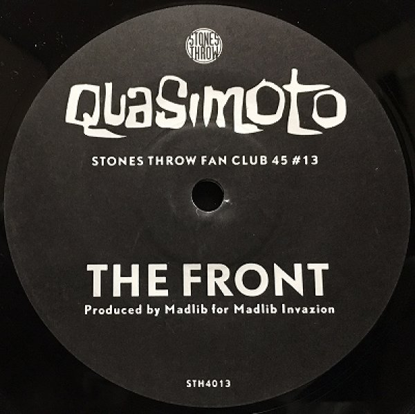 QUASIMOTO - THE FRONT / YOUNGBLOOD