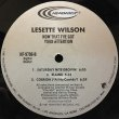 LESETTE WILSON / NOW THAT I'VE GOT YOUR ATTENTION