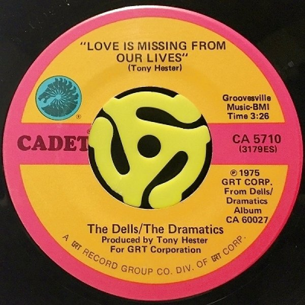 THE DELLS / THE DRAMATICS - LOVE IS MISSING FROM OUR LIVES / I'M IN LOVE