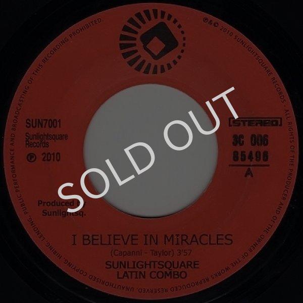 画像1: SUNLIGHTSQUARE LATIN COMBO - I BELIEVE IN MIRACLES / I BELIEVE IN MIRACLES (INSTR.) (1)