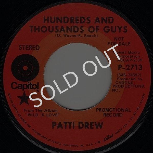画像1: PATTI DREW - HUNDREDS AND THOUSANDS OF GUY / PICK-UP  (1)