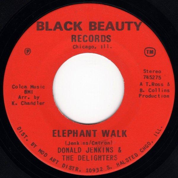 画像1: DONALD JENKINS & THE DELIGHTERS / SONICS - ELEPHANT WALK  / CHASE  (1)