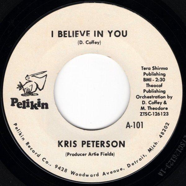 画像1: KRIS PETERSON - I BELIEVE IN YOU / LULLABY OF THE CITY  (1)