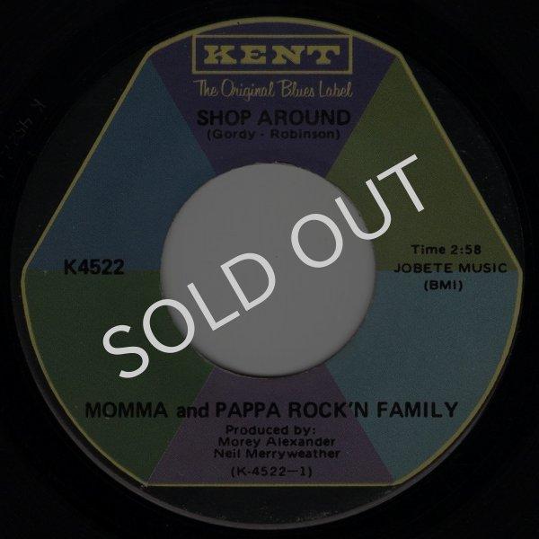 画像1: MOMMA AND PAPPA ROCK'N FAMILY - SHOP AROUND / LUCILLE  (1)