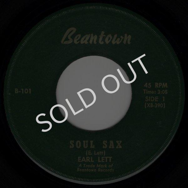 画像1: EARL LETT - SOUL SAX / THE BOSTON PUPPY  (1)