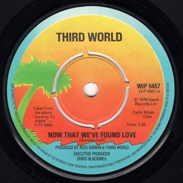 画像1: THIRD WORLD - NOW THAT WE'VE FOUND LOVE / NIGHT HEAT  (1)