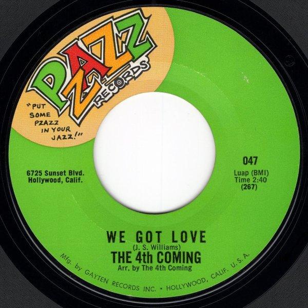 画像1: THE 4TH COMING - WE GOT LOVE / TAKE TIME  (1)
