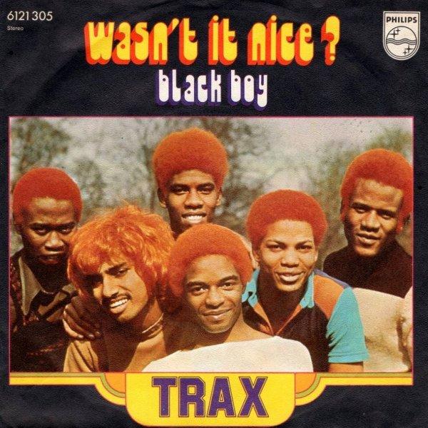 画像1: TRAX - WASN'T IT NICE? / BLACK BOY  (1)