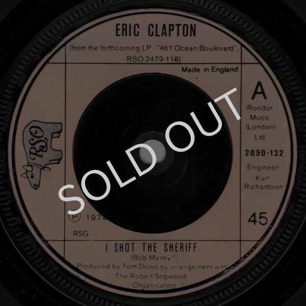 画像1: ERIC CLAPTON - I SHOT THE SHERIFF / GIVE ME STRENGTH  (1)