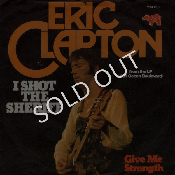 画像1: ERIC CLAPTON - I SHOT THE SHERIFF / GIVE ME STRENGTH  (1)