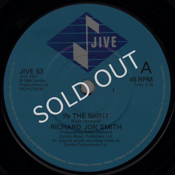 画像1: RICHARD JON SMITH - IN THE NIGHT / I NEED YOU  (1)