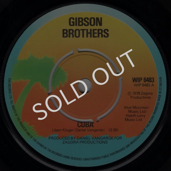 画像1: GIBSON BROTHERS - CUBA / CUBA (CLUB VERSION)  (1)
