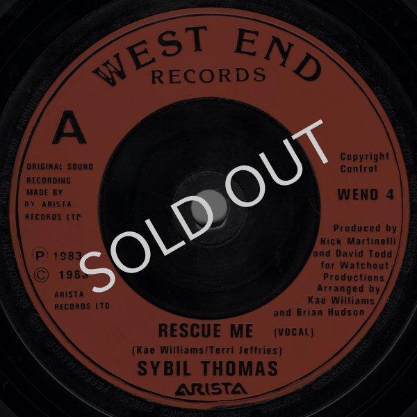画像1: SYBIL THOMAS - RESCUE ME (VOCAL) / RESCUE ME (INSTRUMENTAL)  (1)