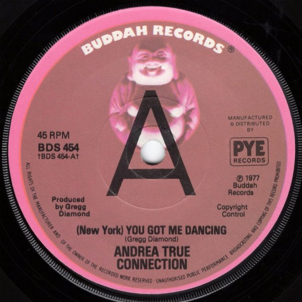 画像1: ANDREA TRUE CONNECTION ‎- (NEW YORK) YOU GOT ME DANCING / KEEP IT UP LONGER  (1)