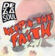 画像1:  DE LA SOUL - KEEPIN' THE FAITH (JUST A TOUCH EDIT) / KEEPIN' THE FAITH (INSTRUMENTAL)  (1)