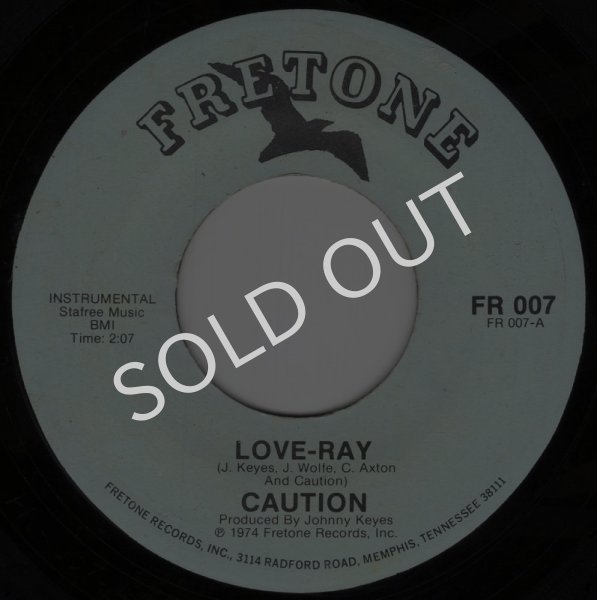 画像1: CAUTION - LOVE-RAY / DON'T RUSH IT  (1)