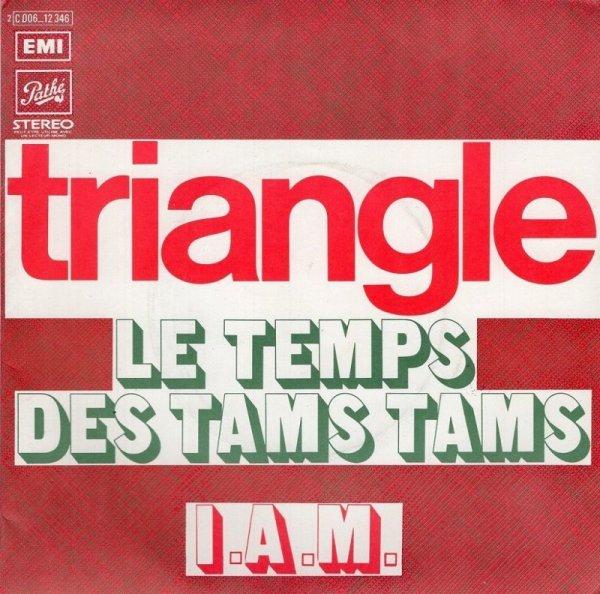 画像1: TRIANGLE - LE TEMPS DES TAMS TAMS / I.A.M.  (1)