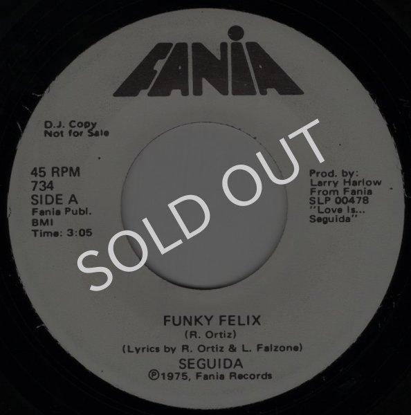 画像1: SEGUIDA - FUNKY FELIX / OPUS 18  (1)