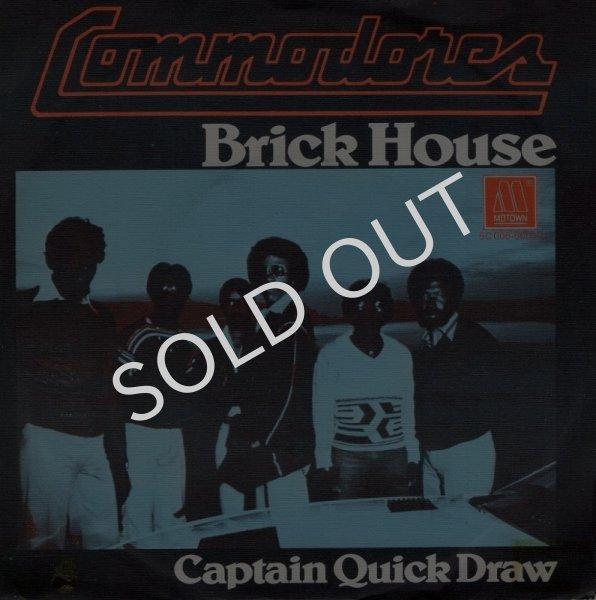 画像1: COMMODORES - BRICK HOUSE / CAPTAIN QUICK DRAW  (1)