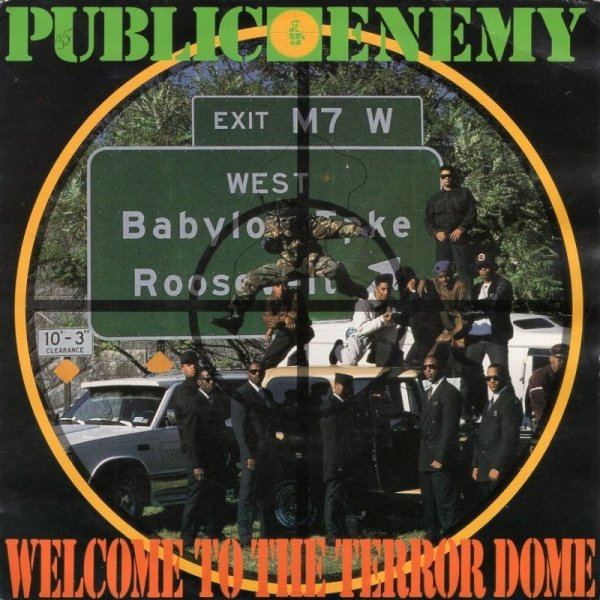 画像1: PUBLIC ENEMY - WELCOME TO THE TERRORDOME (VOCAL) / FLAVOR FLAV / WELCOME TO THE TERRORDOME (TERRORMENTAL)  (1)