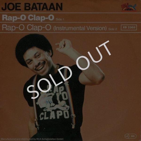 画像1: JOE BATAAN - RAP-O CLAP-O / RAP-O CLAP-O (INSTRUMENT-O)  (1)