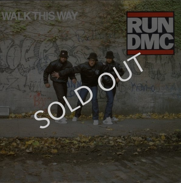画像1: RUN D.M.C. - WALK THIS WAY / WALK THIS WAY (INSTRUMENTAL)  (1)