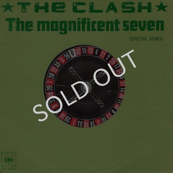 画像1: THE CLASH - THE MAGNIFICENT SEVEN (SPECIAL REMIX) / THE MAGNIFICENT DANCE  (1)