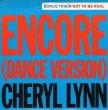 画像1: CHERYL LYNN - ENCORE (DANCE VERSION) / GOT TO BE REAL  (1)