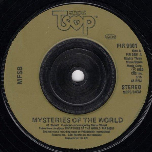 画像1: MFSB - MYSTERIES OF THE WORLD / MANHATTAN SKYLINE  (1)