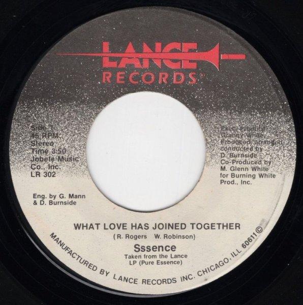 画像1: SSSENCE - WHAT LOVE HAS JOINED TOGETHER / IF YOU WANT ME  (1)