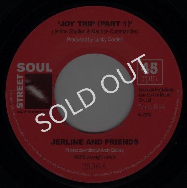 画像1: JERLINE AND FRIENDS - JOY TRIP (PART 1) / GET IT OFF MY CONSCIENCE  (1)
